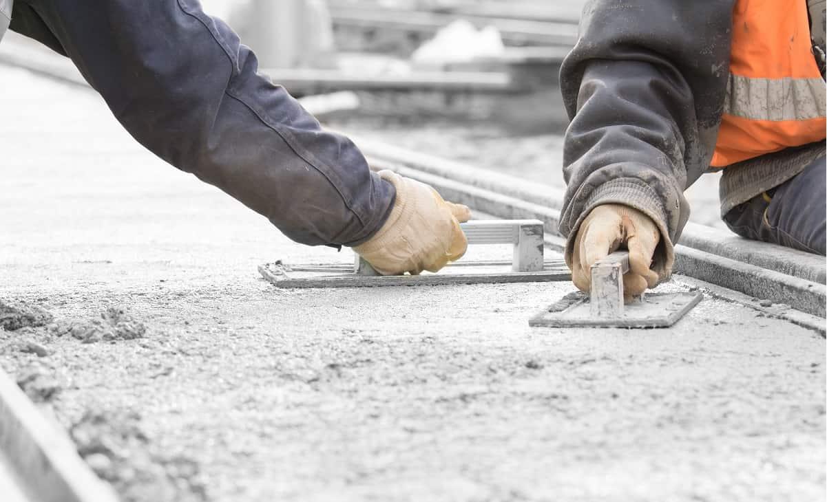 укладка бетона расценка